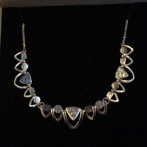 Silver necklace from Ireland